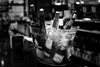 Cold Wines... (Explored 07/01/2017) (protsalke) Tags: monochromatic blackandwhite bw bottles bares sevilla 50mm12ais nikon