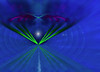 evening flight (CaBAsk! on and off. Thank U for the visit ♥) Tags: abstract art olympus lumia bomomo photo graphics digital manipulation light blue night evening flight bird sea beach dream stars river expression dark black fantasy imagination hearts wings norway tunnel moon netartii