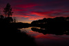 Sunset Reflection at the Barragem (www.craigrogers.photography) Tags: sunset barragem bomberios reflection redskyatnight algarve saomarcosdaserra serra portugal lake water clouds silhouette d810