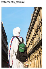 back! (domit) Tags: vetements eastpak collab work instagram france paris theoffice