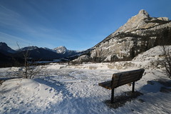 HBM Happy Bench Monday (davebloggs007) Tags: hbm happy bench monday grotto canyon alberta canada