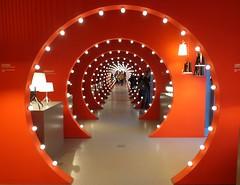 ROSSO (cannuccia) Tags: tunnel rosso red luci prospettiva colori curve interni lampadine virgiliocompany challengegamewinner