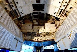 XH558 - Vulcan Bomb Bay