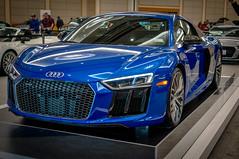 Audi R8 Blue (Richtpt (Rich Uchytil)) Tags: 2017 car pdx portlandautoshow portlandor auto autoshow portland oregon unitedstates us