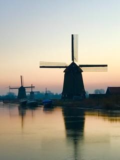 Niederlande - Wintermorgen