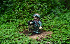 ~~~ R E B I L ~~~ (~J2J~) Tags: lego star wars rebel galactic civil war soldier brickarms prototype marine gun painted custom weathered endor citizenbrick combatbrick combat minifigsrus