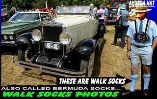 OLD CARS AND WALK SOCKS  29