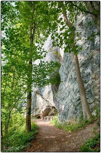"""Wandersteig in der """"Ewigen Wand"""" (3)"""
