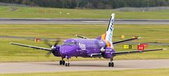G-LGNK SAAB 340, Edinburgh (wwshack) Tags: edi egph edinburgh edinburghairport flybe loganair saab340 scotland turnhouse glgnk
