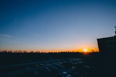 sunset tonight (viewsfromthe519) Tags: sunset sky skyscape clouds blue golden orange sun stthomas ontario canada winter