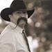 Handlebar Moustache Cowboy