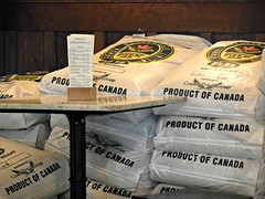 Product of Canada (knightbefore_99) Tags: city canada beer bar bag pub bc cerveza capital grain ale craft victoria pale product brewpub spinnakers pivo
