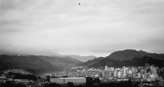 Cloudy sunset (Jhon Meza92) Tags: city blackandwhite cloud mountain blancoynegro canon landscape colombia montaña pereira