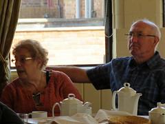 Tonia's Birthday Tea Party (Alone With Strangers) Tags: birthday party hall tea wife springfield teaparty tonia sandiacre notingham springfieldhall dinkytonia