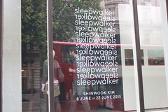 [8 June 2015] Open Call shinwook Kim 'Sleepwalker' Private View. (kccuk) Tags: london photography artist exhibition korean sleepwalker opencall kccuk shinwookkim