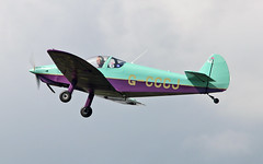 G-CCCJ Nicollier HN.700 Menestrel II (PlanecrazyUK) Tags: fly in sturgate 070615 egcv gcccj nicollierhn700menestrelii