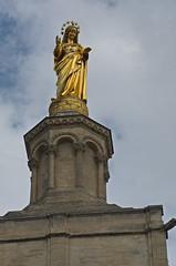 0276 - Europatour 2014 - Frankreich - Avignon - Pabstpalast (uwebrodrecht) Tags: france castle frankreich europa schloss avignon palast uwe papst brrodrecht