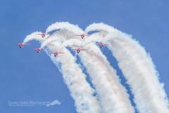Red Arrows (Florian Mallet Photo) Tags: aircraft jet meeting f16 puma alpha redarrows spotting militaire rafale patrouilledefrance