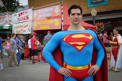 Superman (**PhotoSchmoto**) Tags: comics costume illinois cosplay superman celebration metropolis dccomics supermancelebration joshuaboultinghouse