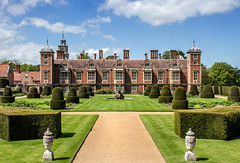 Blickling Hall, Norfolk (iscook72) Tags: summer sky house home grass gardens hall topiary norfolk national trust blickling stately