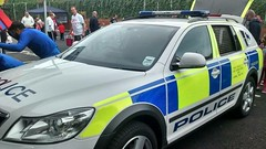 A HBC police skoda dog unit (slinkierbus268) Tags: skoda borehamwood policedogs dogunit hertfordshirepolice