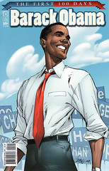 Barack Obama: The First 100 Days (FranMoff) Tags: comicbooks campbell barackobama jscottcampbell