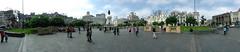 plaza San Martin, Lima (payorivero) Tags: people panorama peru gente lima sony panoramic