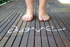 Love your feet (Pollyfranceswright) Tags: love feet chalk toes balcony ring