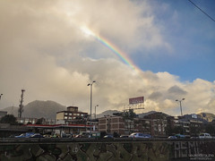 Un arcoiris sobre las montañas | A rainbow over the mountains. Bogotá, Colombia. (Laura-Catalina) Tags: world street city travel vacation urban mountain holiday mountains building nature beautiful arcoiris architecture night buildings outdoors photography lights blog nikon colombia bogota day nightlights photoshoot personal bogotá exploring flash streetphotography blogger follow hermoso traveling hermosa mitierra facebook montanas bestshot colombiano colombiana colombianos flickrsbest tumblr