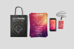 Design Branded Merchandise for an Electronic Music Event - Mockups (Simon Birky Hartmann) Tags: modern photoshop poster turntable electronicmusic educational illustrator branding tutorial bold visualidentity adrianetext designcuts viasans steviesans