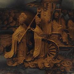 Royal Procession, Taipei temple  073015 #art #sculpture #culture #Taiwan #Asia #travel #temple #Buddhist #mythology #storytelling #jezevec (Badger 23 / jezevec) Tags: square roc taiwan squareformat formosa 台灣 crema kina 臺灣 2015 中華民國 republicofchina 섬 instaart 湾 republikken 福爾摩沙 tajwan تايوان tchajwan 타이완 тайвань đàiloan ταϊβάν iphoneography republikchina thòivàn טייוואן taivāna taívan தாய்வான் تەيۋەن instagram instagramapp uploaded:by=instagram instataiwan