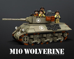 M10_wolverine_01 (bijanz) Tags: usa army tank lego military worldwar wolverine m10 legotank
