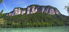 Drau/Drava and its cliffs
