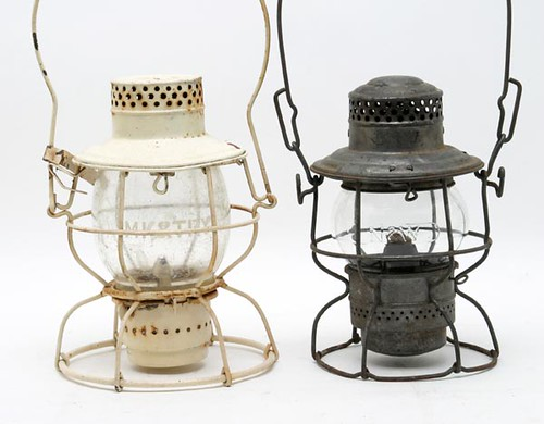 Railroad Lanterns ($89.60, $84.00)