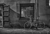 Nocturna (paupuigmiralles) Tags: bicicleta barcelona noche blancoynegro fujixt1 fuji fujistas fujinon laribera