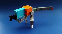 """TYRANT"" drone [prototype] (Shannon Ocean) Tags: drone droneuary tyrannosaurusrex robot prototype"