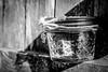 Bottled up (FitzJohnson) Tags: jar glass shade musicsymbol blackandwhite bw blackwhite monochrome monochromatic t3i 600d eos canon canonrebel rebel bokeh depthoffield dof nebraska