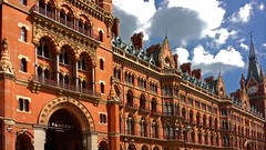 St Pancras Station London (MJB1956) Tags: londonberlin st saint pancras station london uk great britain england mass transit underground architecture style train landmark historical history