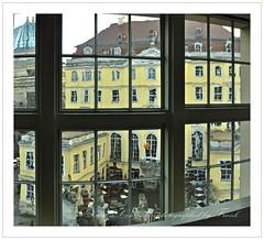 another view,Dresden Coselpalais (friedrichfrank1966) Tags: view blick dresden trip sightseeing rahmen gebäude window fenster