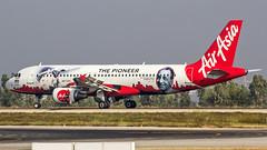 Air Asia Airbus A320 VT-JRT Bangalore (BLR/VOBL) (Aiel) Tags: airasia airbus a320 vtjrt bangalore bengaluru canon60d tamron70300vc jrd jrdtata