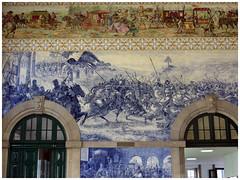 Gare de Porto-São Bento (abac077) Tags: azulejos faïence porto portugal art gare station 2016 são bento