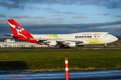 CYVR - Qantas B747-438(ER) VH-OEJ (CKwok Photography) Tags: yvr cyvr qantax b747 v hoej olympic 2016