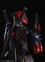 Smells like fresh powder... (Rezso Kempny) Tags: kaiyodo amecomi yamaguchi amazing deadpool wade wilson chimichangas revoltech