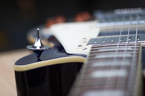 foreverspin spinningtop kreisel guitar epiphone lespaul blue