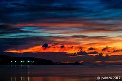 Guam Twilight, 2/7/17 (orgazmo) Tags: guam landscapes twilight dusk sundown sunsets sky skyscapes clouds cloudscapes cloudformations aganabay nikon d500 tamron 16300mmf3563diiivcpzdmacro