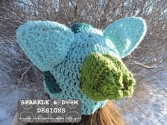 Bulbasaur 01b (zreekee) Tags: pokemon bilbasaur toque sparkledoomdesigns saskatchewan canada crochet handmade