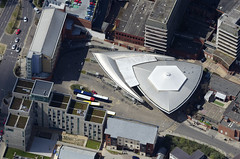 Spaceship lands in downtown Norwich (John D F) Tags: busstation norwich norfolk architecture aerial aerialphotography aerialimage aerialphotograph aerialimagesuk aerialview hirez hires highresolution britainfromabove britainfromtheair droneview viewfromplane