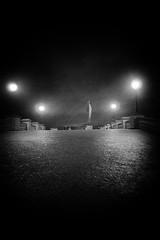 (Bonny van Straten) Tags: antwerp antwerpen 2016 blackwhite blackandwhite zwartwit belgium belgie streetphotography street straatfotografie leica leicadlux leicadlux4 dlux4 dlux city stad evening avond brug bridge