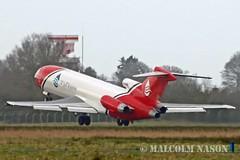 B727-2S2F(RE) G-OSRB OIL SPILL RESPONSE (shanairpic) Tags: jetairliner b727 boeing727 shannon 2excelaviation oilspillresponse gosrb