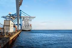 Shipyard 1/4 (Marcus Bichel Lindegaard) Tags: ships boats marine port harbour shipyard dmjx blue rust rustic worker labour strong best